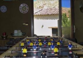 Sala con juegos