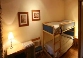 Cuarto doble con 2 camas individuales