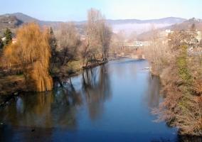 La ribera del río Ter