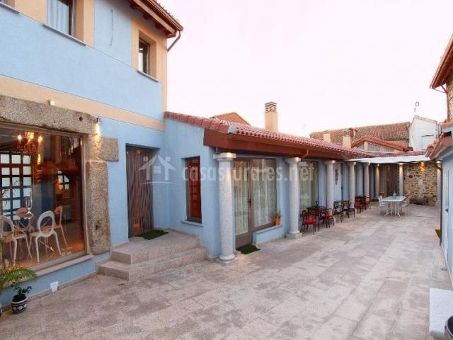 Amplias zonas comunes con terraza