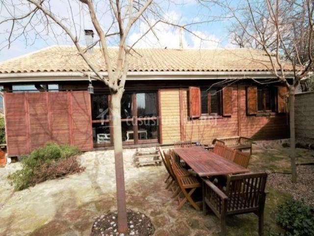 Casa de madera canadiense en la adrada vila - Casas de madera canadiense ...