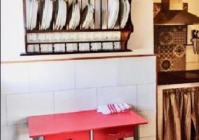 Cocina integrada al salón