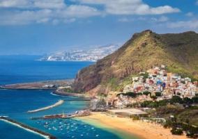 Zona de playas en Tenerife