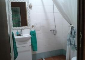 Aseo adaptado con ducha