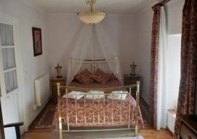 Dormitorio de matrimonio en forja