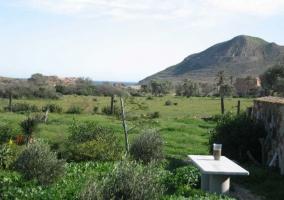 Jardín con vistas
