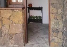 Fachada exterior de piedra
