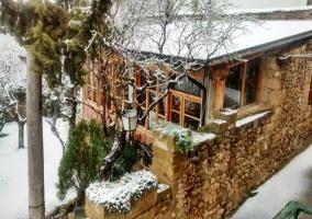 Casa Roseta en invierno