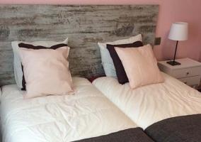 Hbaitacion con 2 camas individuales