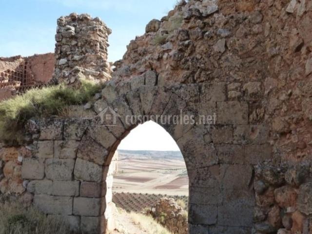 Zona del castillo medieval