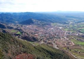 Vista superior de la capital