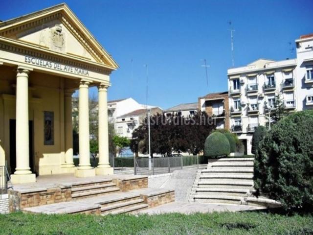 Casa rural el cerc n de candelo en magacela badajoz for Piscina don benito