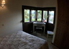 Galería interior del dormitorio