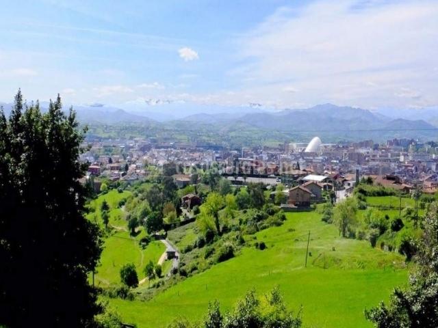 Panorámica de Oviedo