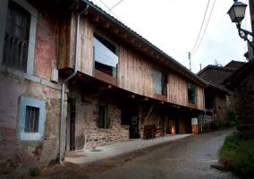 Calle de las casas