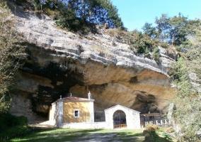 Entrada al Santuario