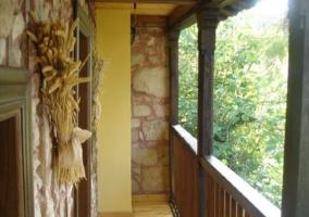 Corredor de madera