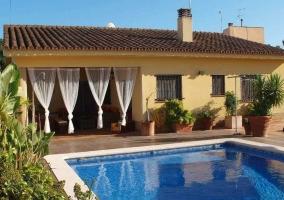 La piscina de la casa