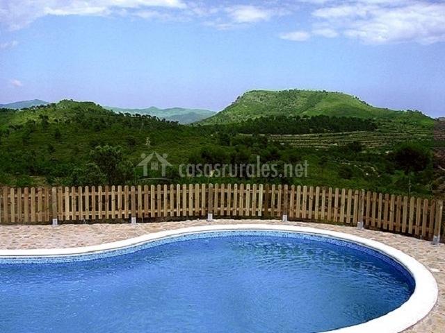 Casa rural mas a nueva en segorbe castell n for Piscina segorbe