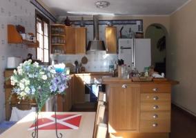 Mobiliario de la cocina