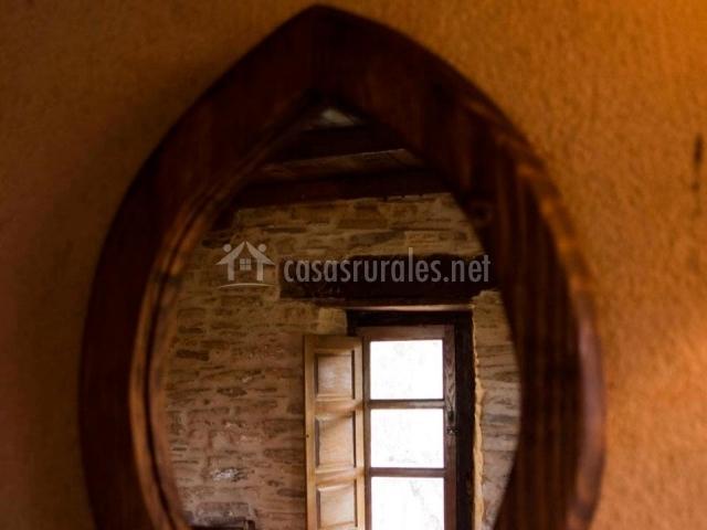 Ventana interior entre habitaciones