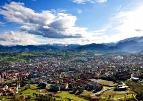 Vista completa de Oviedo