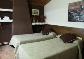 Dormitorios con mobiliario