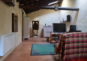Buhardilla con sala de estar