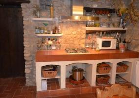 Equipamiento de la cocina