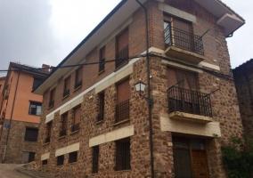 Fachada de los apartamentos