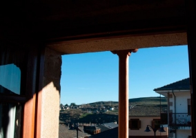 Vistas desde el ático