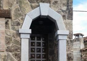 Puerta de la entrada