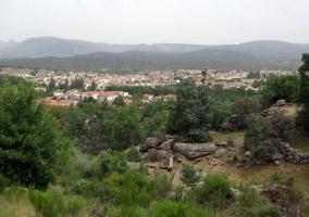 Vista de Navaluenga