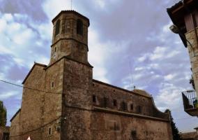 Zona de la iglesia en Perafita