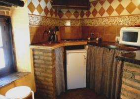 Comedor y cocina apartamento