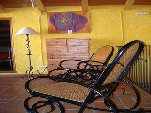 Mobiliario de las habitaciones