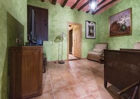 Interior salón Las Cardelinas