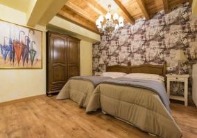 Interior dormitorio Las Cardelinas