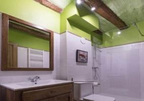 Interior baño El Tordo