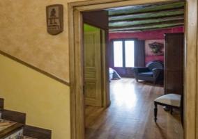 Interior habitación El Tordo