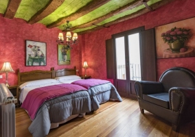 Interior dormitorio El Tordo