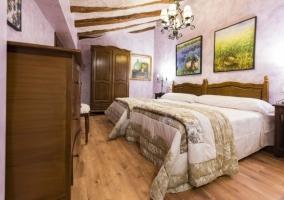 Interior dormitorio Las Golondrinas