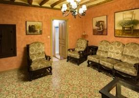 Interior salón Las Golondrinas