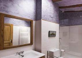 Interior baño Las Palomas