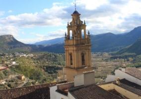 Entorno iglesia de Chulilla