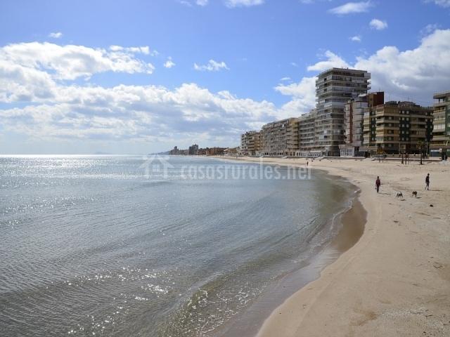 Entorno playa Valencia