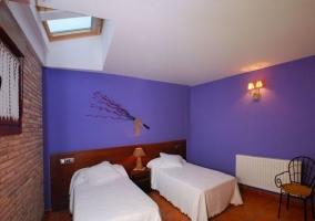 Habitación doble con camas separadas