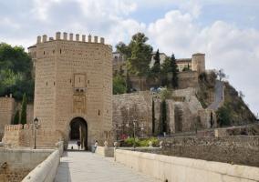 Entorno puente de Alcántara de Toledo