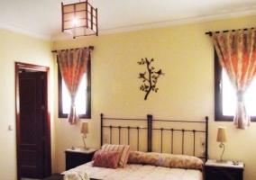 Interior habitación de matrimonio