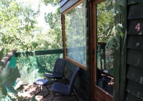 Cabaña Aventura- Dormir en los Árboles